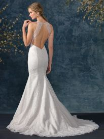 BL246 back wedding dress