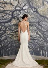 Nicole Miller Bridal low back wedding dress