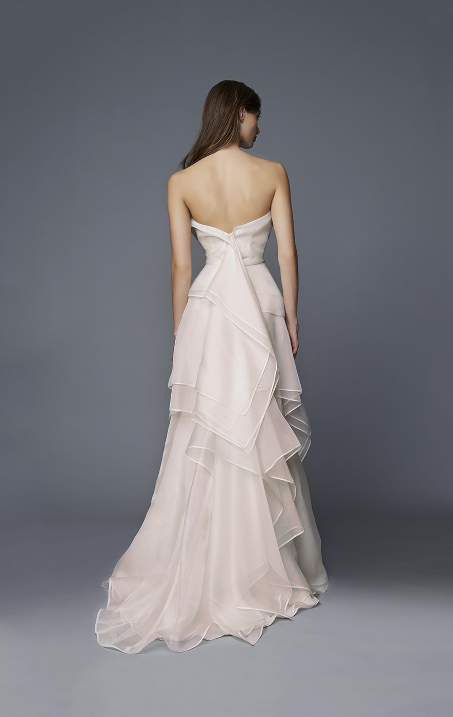 """Brenda"" Antonio Riva wedding gown at Masako Formals"