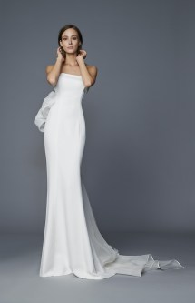 """Kristel"" Antonio Riva wedding dress at Masako Formals"
