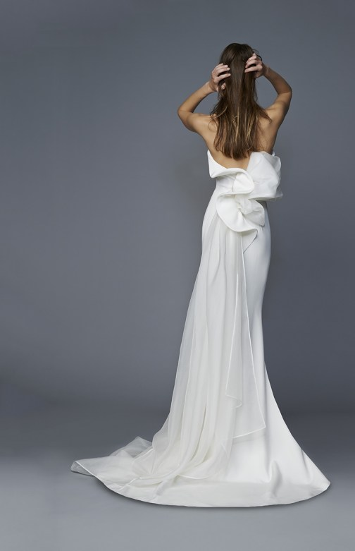 """Kristel"" Antonio Riva wedding dress at Masako Formals"