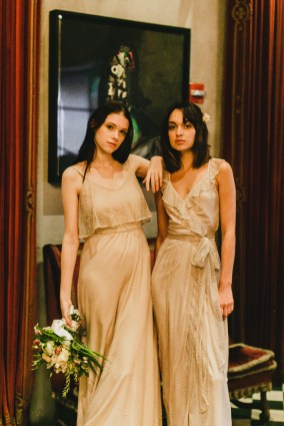 Joanna August bridesmaids dresses at Maskao Formals Hawaii