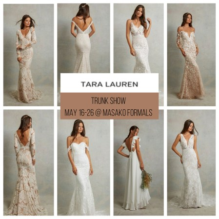 Tara Lauren trunk show announcement