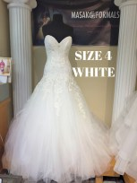 Sophia Tolli Y21142 size 4 Diamond White 1575 (1)