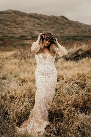 Masako Formals boho bride by Tara Lauren