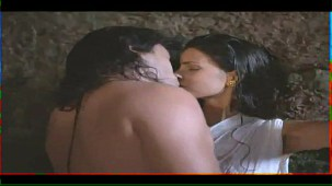 Helen_Brodie_White Saree_Topless_09