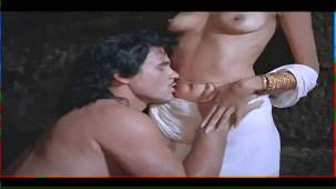 Helen_Brodie_White Saree_Topless_12