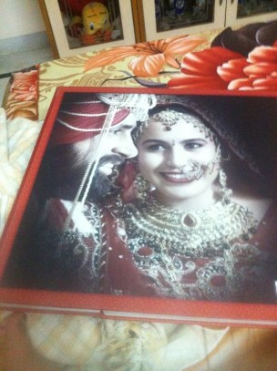 Preview of the wedding album. Can't wait to see the whole thing!