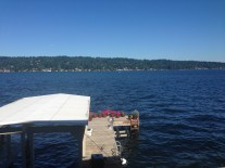 Vacay on Lake Washington.