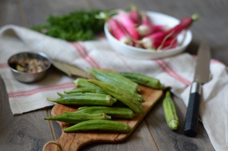 okra-ingredients-pickles-recipe