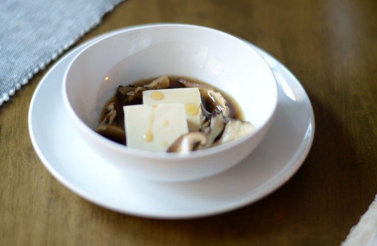 tofu-mushroom-sesame-oil-recipe