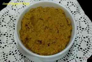 Coconut Thogayal / Thengai Thogayal