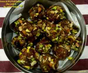 Dates & Dry Fruits Ladoos