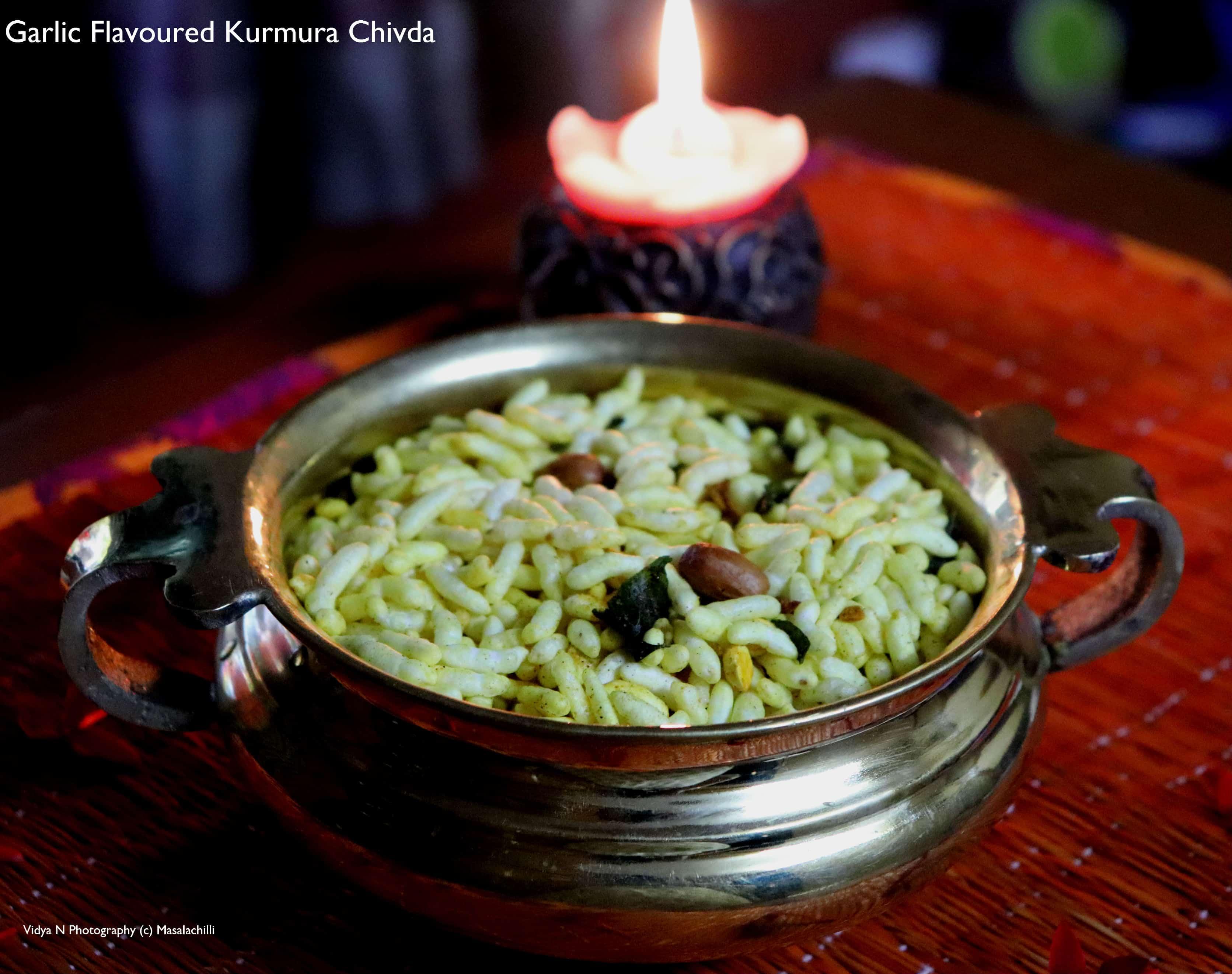 Garlic Flavoured Kurmura Chivda
