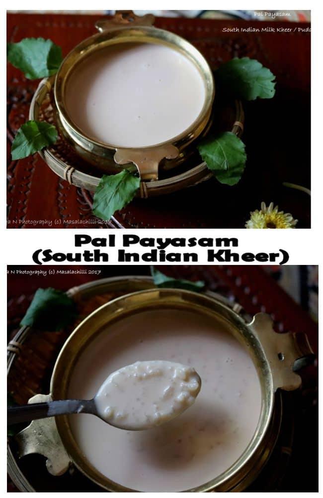 Pal Payasam Collage