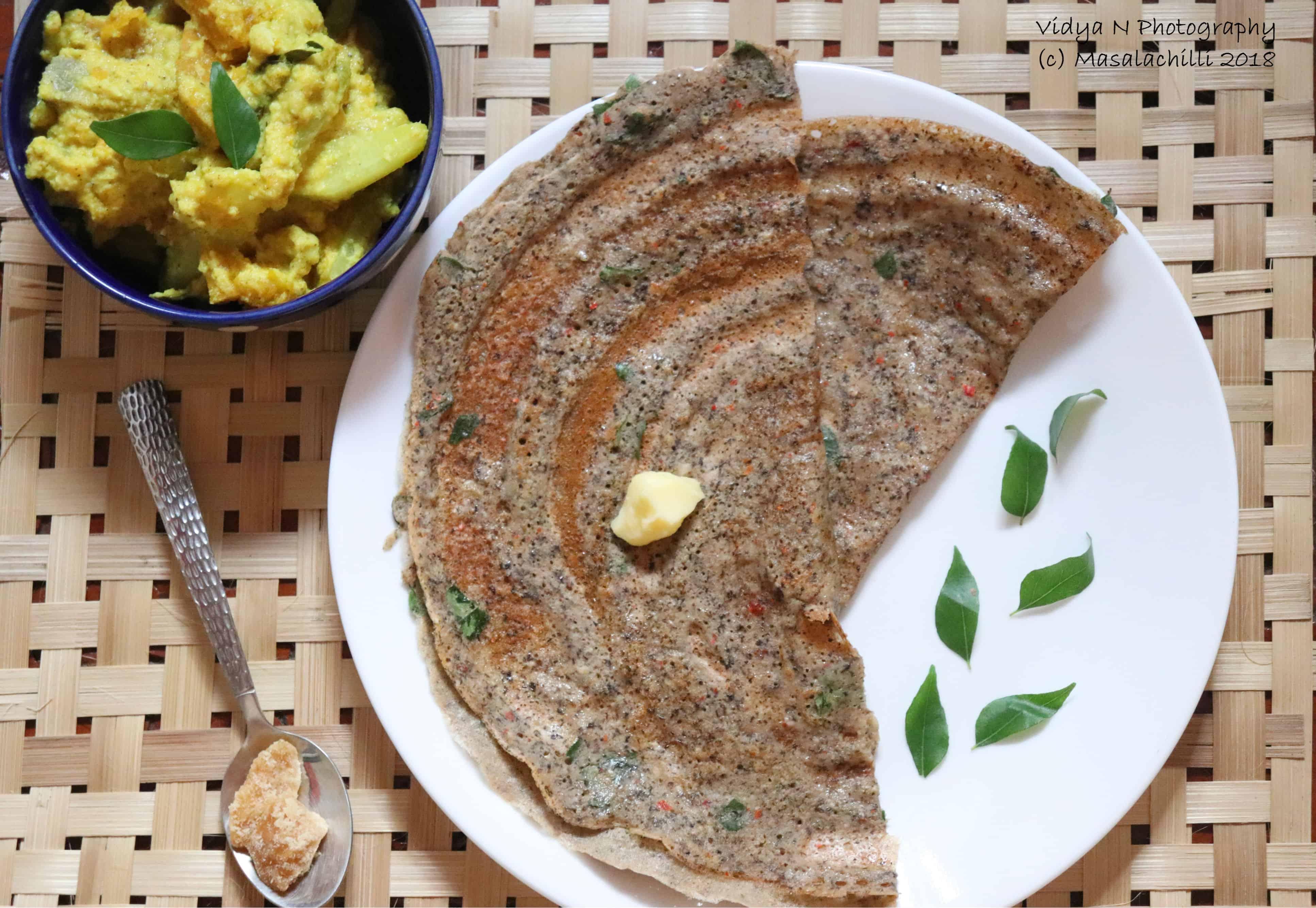 Milagu Jeera Adai & Avial – Traditional South Indian Breakfast