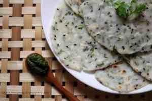 Angakar Roti (Rice Roti from Chattisgarh)