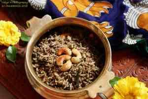 Milagu Jeera Sadam / Pepper and Jeera Rice / Variety Rice / Kalavai Sadam
