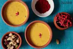 Basundi (Sugar Free) (Kesar, Apricots, Badam aur Kaju ki Basundi)