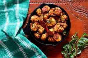 Chembu Roast / Arbi Roast (Colocasia) / Seppankizhangu Roast / Taro Root Roast