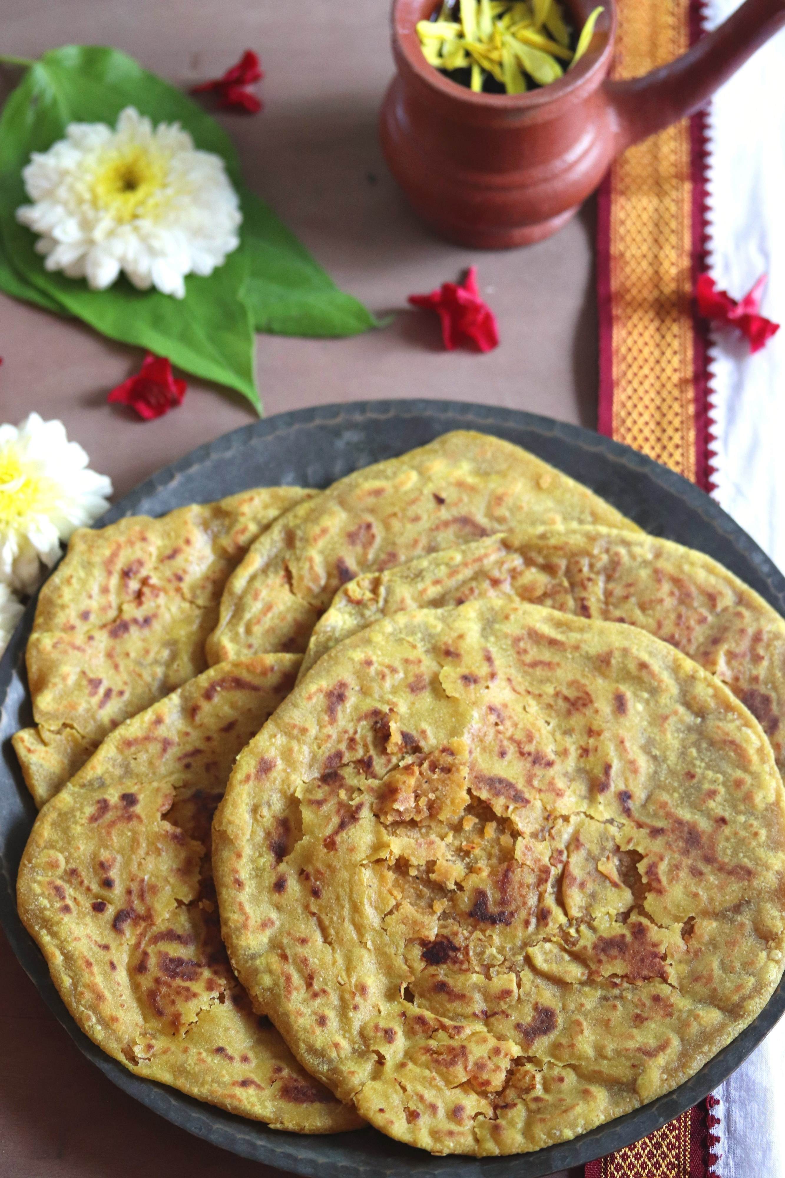 Holige / Bele Obbattu or Puran Poli – A Traditional Festive Indian Dessert