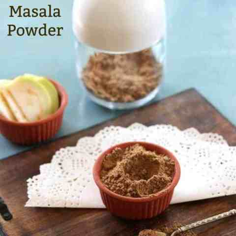 Homemade Chaat Masala Powder - A must have Indian Street food Spice Blend