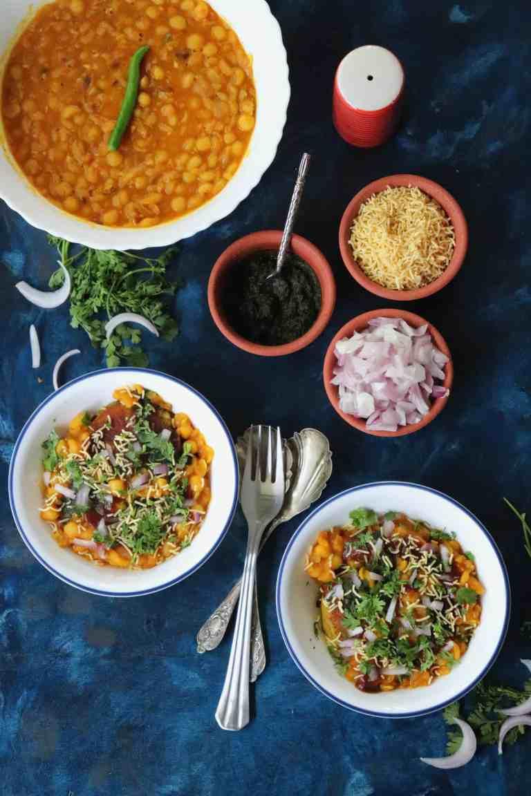 Ragda Pattice - A Mumbai Famous Street food snack