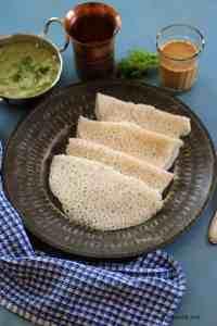 Tandalache Ghavan – Gluten Free and Vegan Rice Crepes from Maharashtra