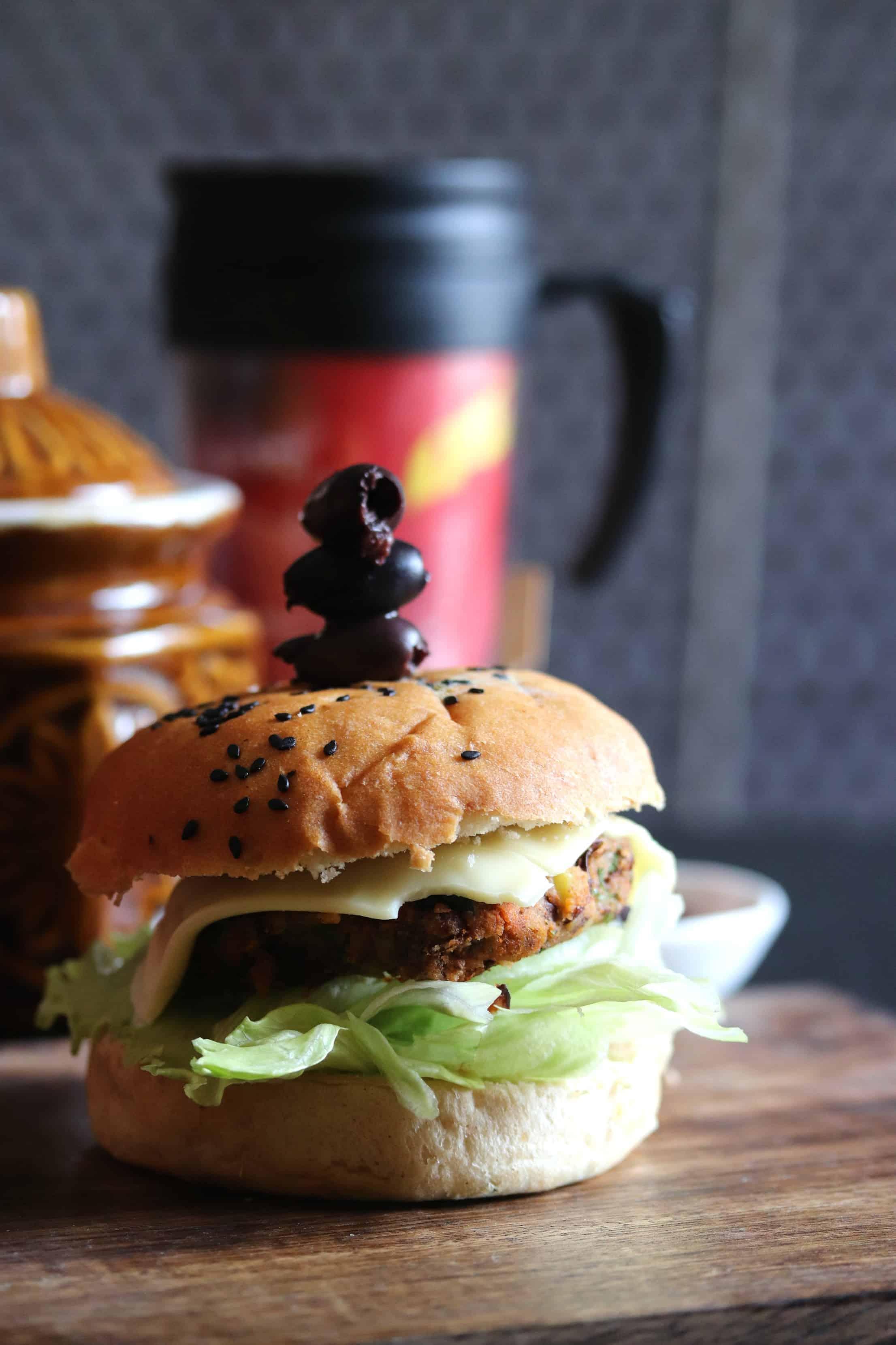 Veg Kidney Bean Burger