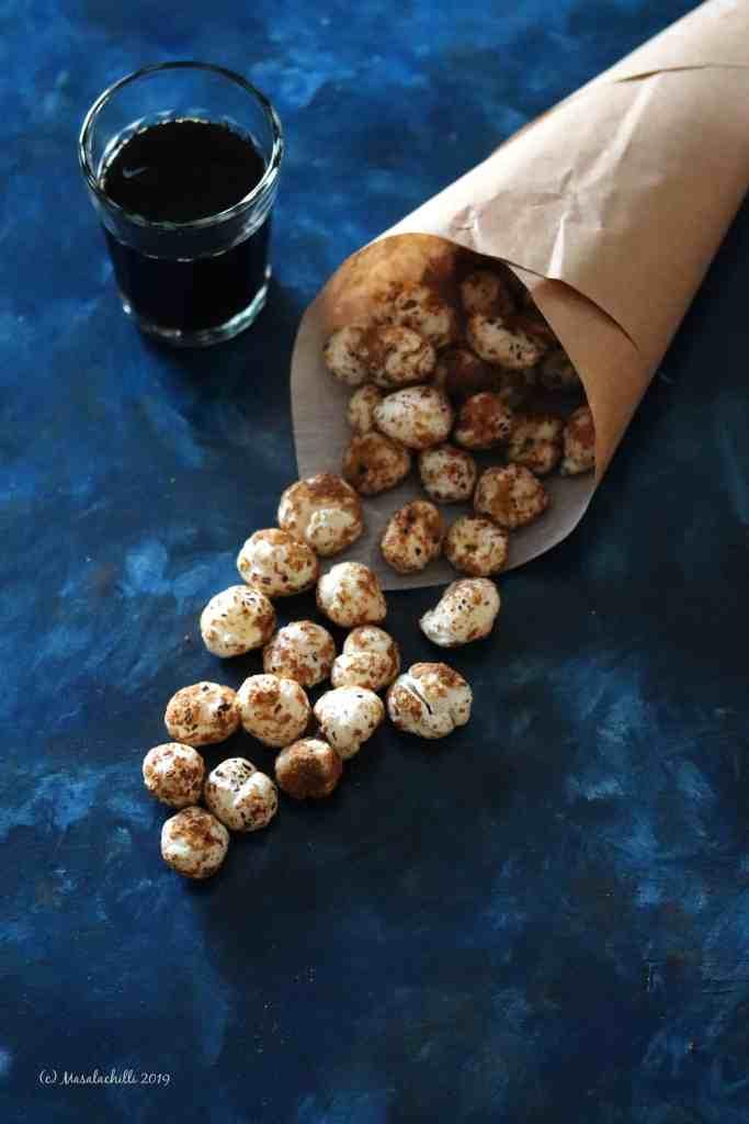 Gur Makhana / Palm Jaggery Coated Fox Nuts