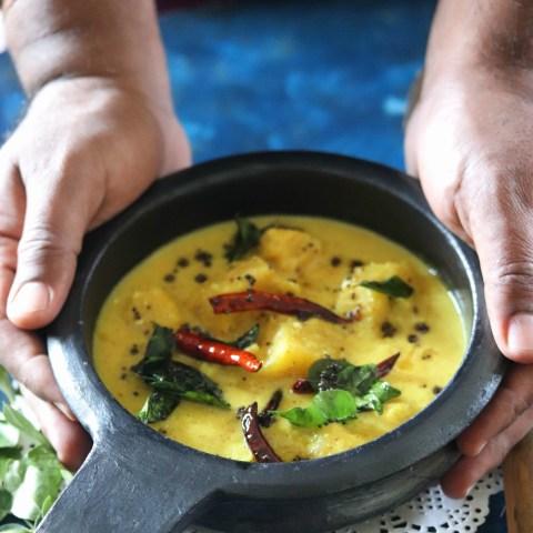 Kerala Pineapple Pachadi
