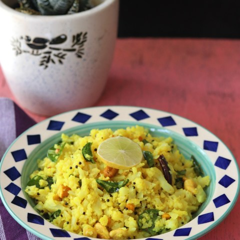 Lemon Cauliflower Rice a Pegan plant based recipe