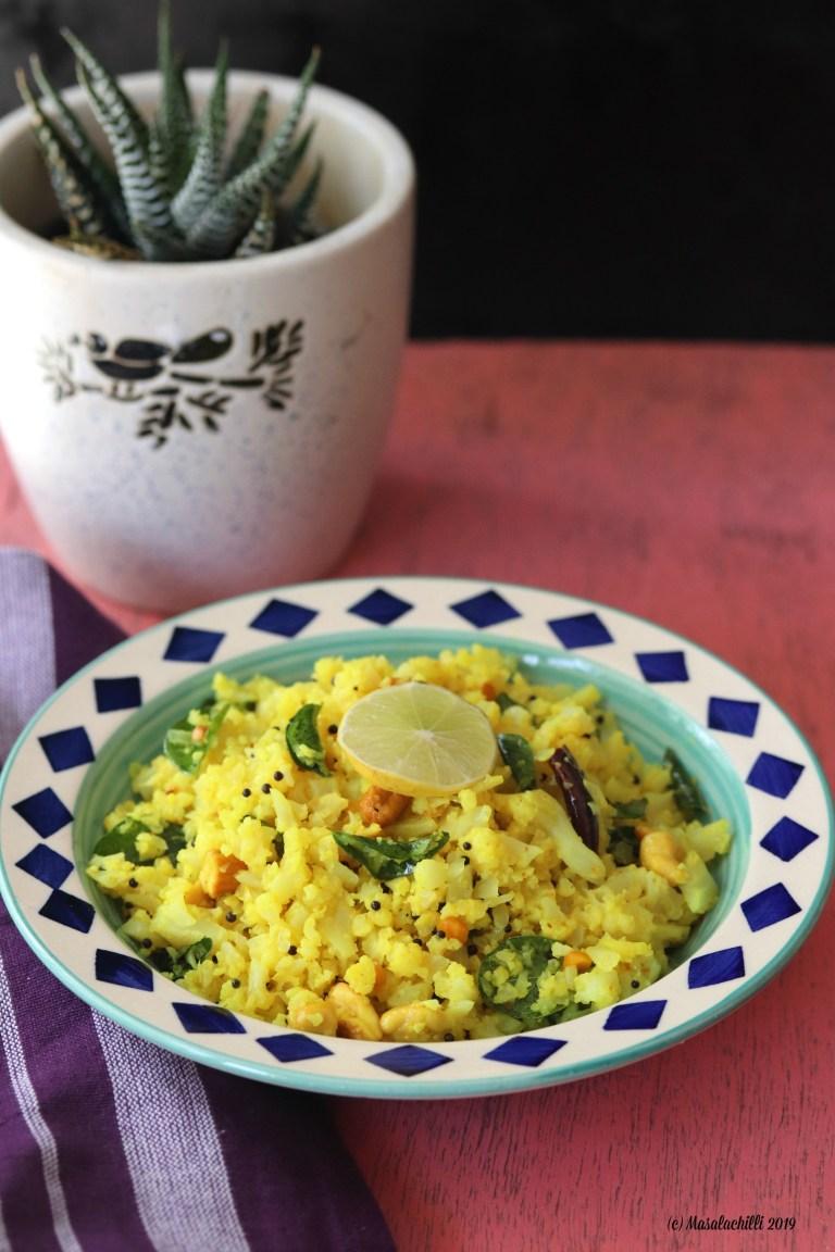 Lemon Cauliflower Rice a Pegan plant based recipe