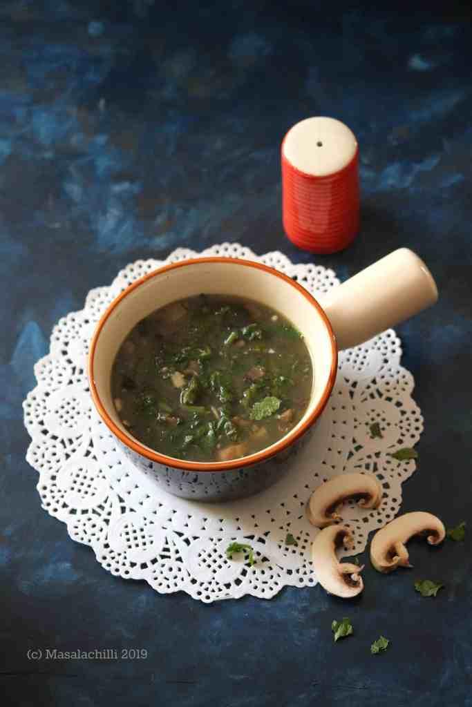 Syrwa Tit / Meghalaya Mushroom Soup Recipe