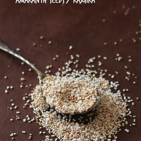 Popped or Puffed Amaranth Rajgira Seeds