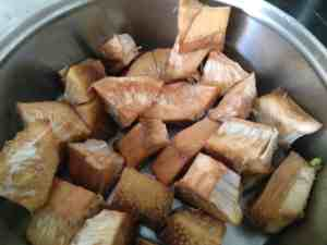 Step to Make Kathal Cutlet - Chopped Jackfruit