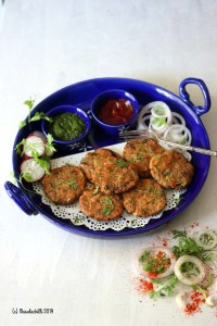 Air Fryer Raw Jackfruit Cutlet / Kathal Cutlet
