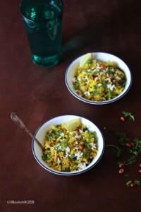 How to make Kanda Pohe at home