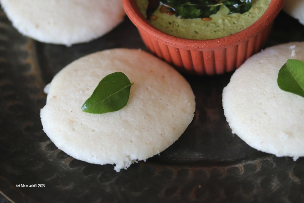 Steamed Idli Recipe with fresh idli batter at home
