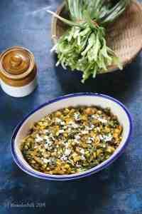 Phodshi Bhaji – Wild and Rare Monsoon Leafy Vegetable