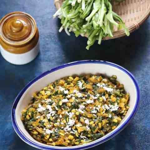 Phodshi bhaji Maharashtrian Recipe