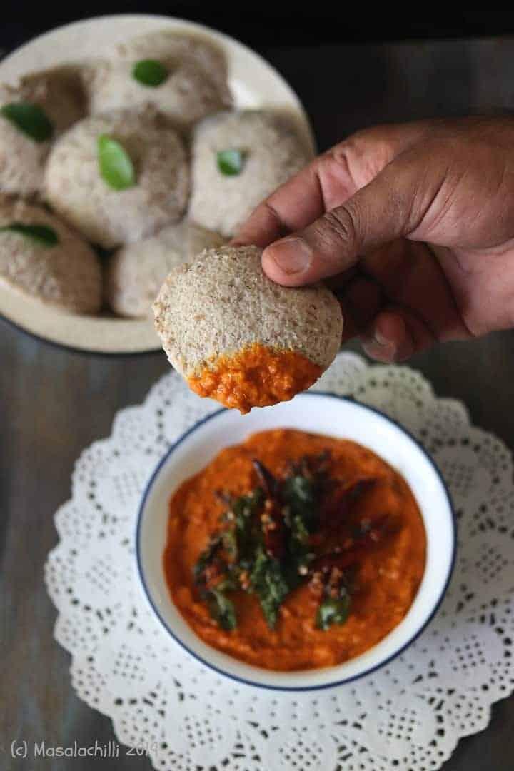 Tomato Chutney / Thakkali Chutney