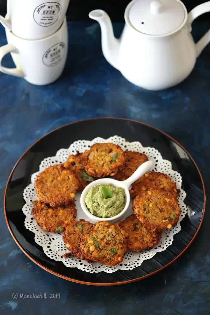 Vazhaipoo Vadai in Air Fryer/ Banana Flower Fritters