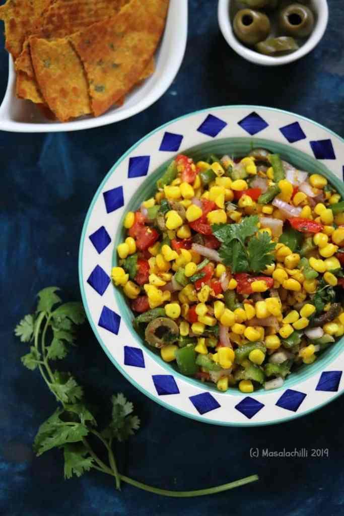 Corn Salad Recipe Contains No Oil
