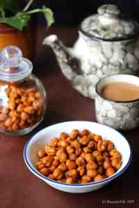 Air Fryer Roasted Chickpeas