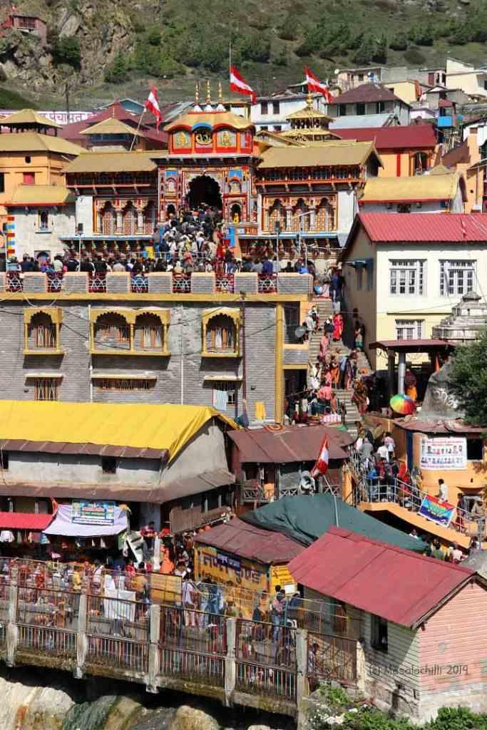 Badrinath Temple - Last stop of the Chota Char Dham Yatra