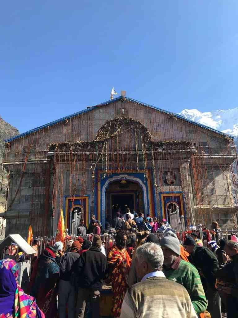 Kedarnath Temple is located at a high altitude - Chota Char dham
