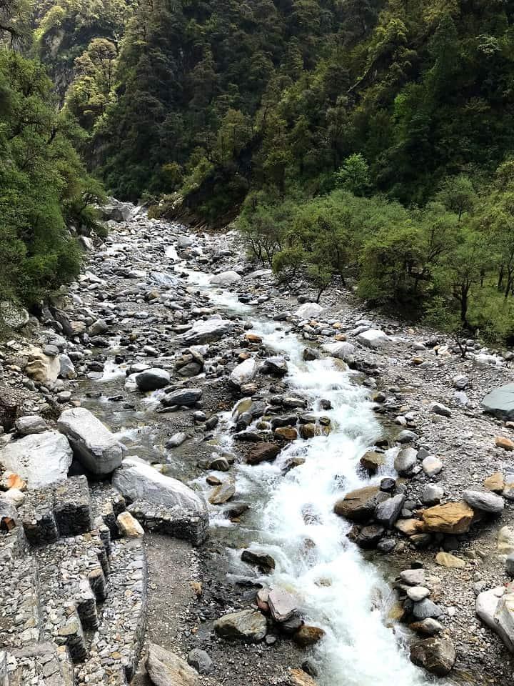 View from Yamunotri Trek