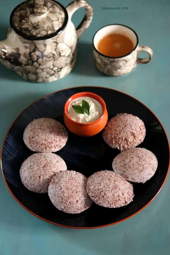 Ragi Idli Recipe (Finger Millet Idli)