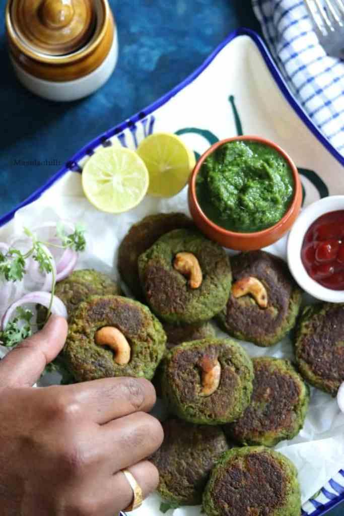 Step by Step recipe to make Hara Bhara Kabab at home